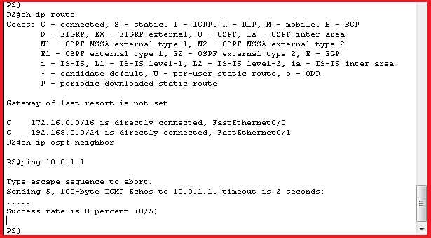 R2 BEFORE OSPF